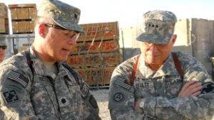 Joe Ricciardi in uniform, briefing 300x166