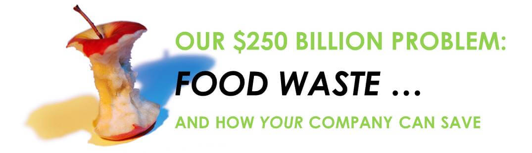 Food waste series graphic