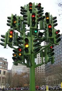 Stop light tree