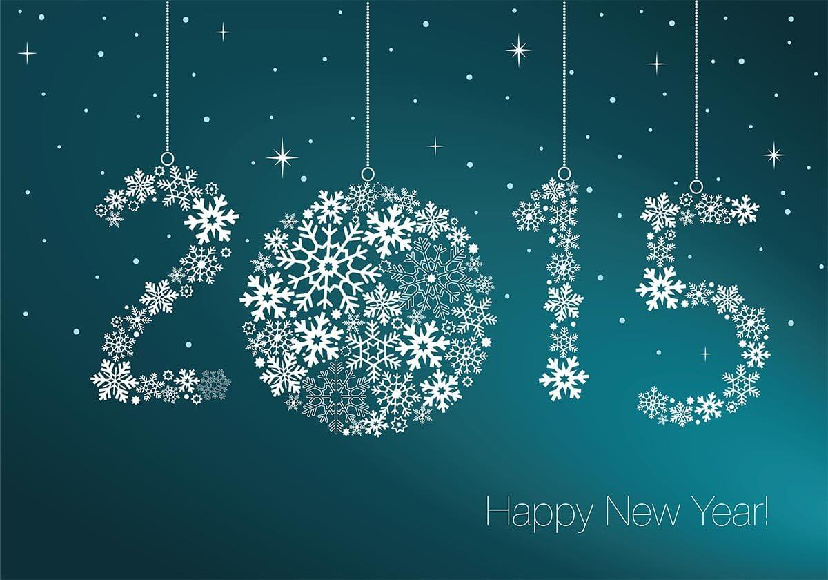 2015 Happy New Year image