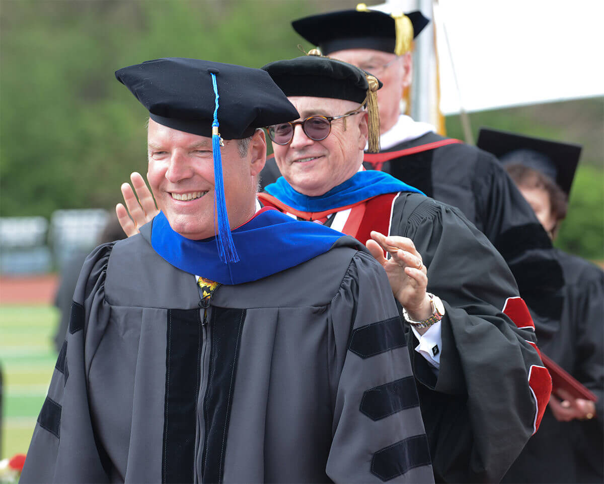 Leadership PhD graduates