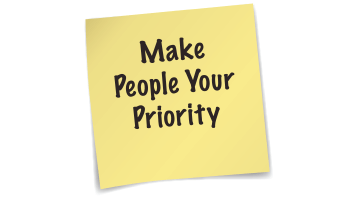 Make People Your Priority