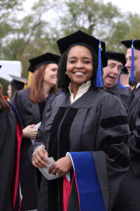 McDonald's executive awaits commencement