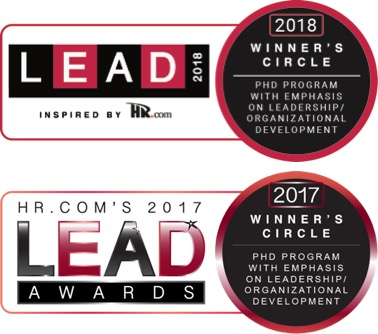 Number 1 PhD Program in Leadership & Organizational Developoment