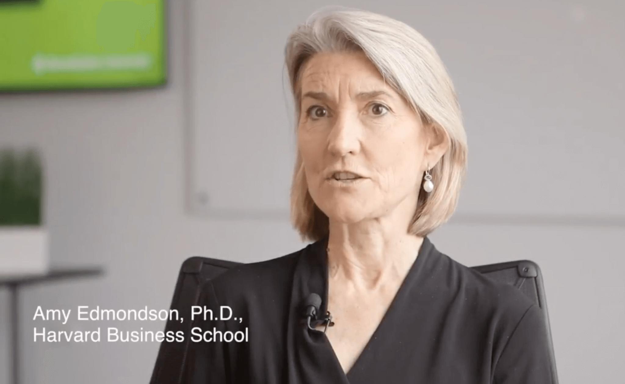 Amy Edmondson Video | Teaming, Purpose, Psychological Safety